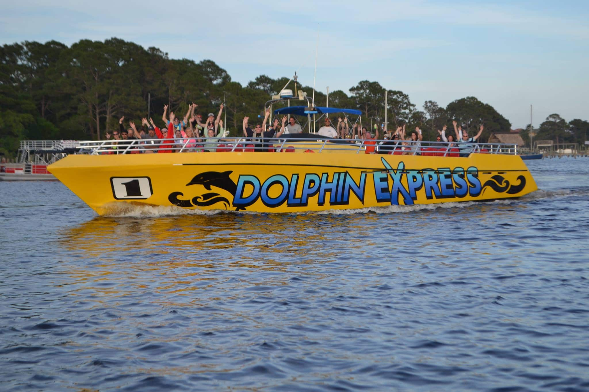 dolphin express Panama City beach fl