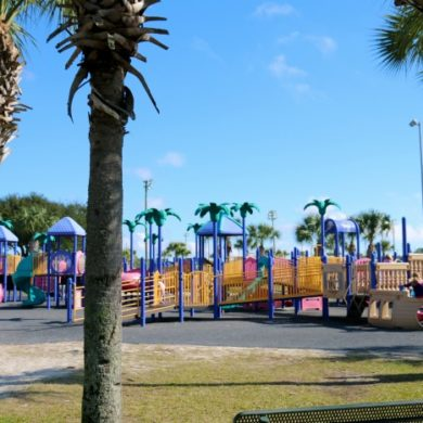 frank brown park Panama City beach fl