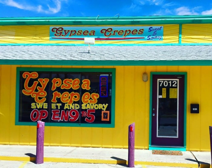 gypsea crepes panama city beach fl