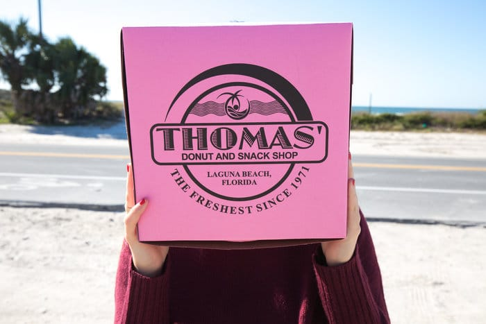 thomas donut and snack shop laguna beach fl